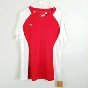 PUMA Womens Size XL Dry Cell Training Red Running
